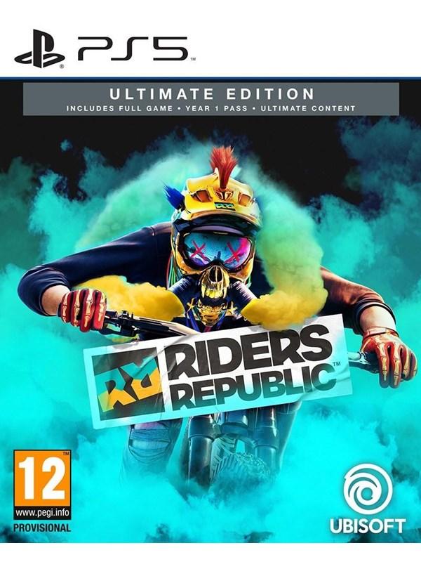 Riders republic - Ultimate Edition - Sony PlayStation 5 - Sport - PEGI 12 Produktbild
