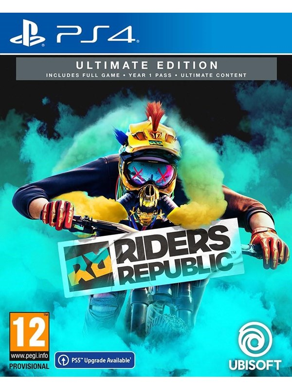 Riders Republic - Ultimate Edition - Sony PlayStation 4 - Sport - PEGI 12 Produktbild