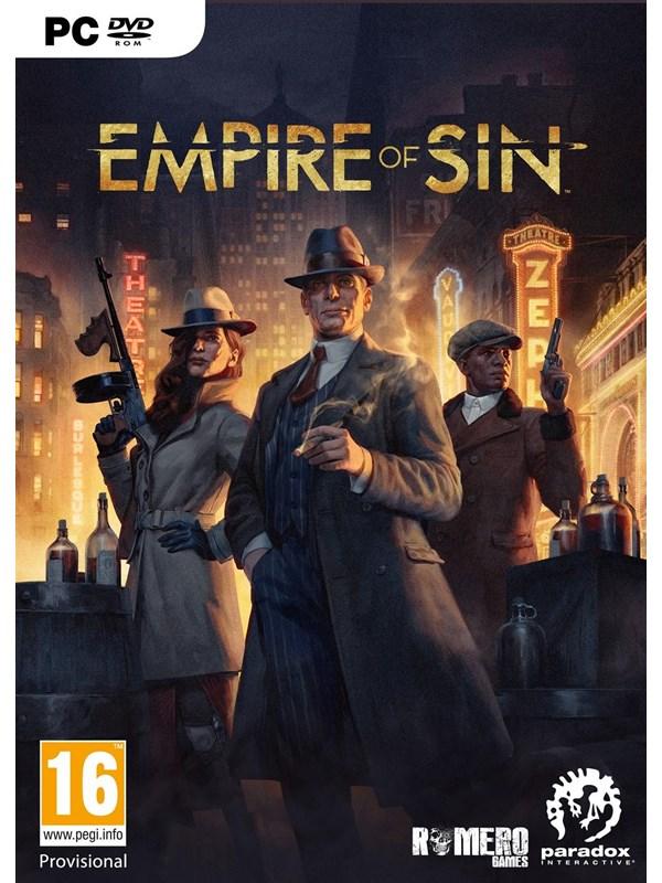Empire of Sin - Windows - Strategie - PEGI 16 Produktbild