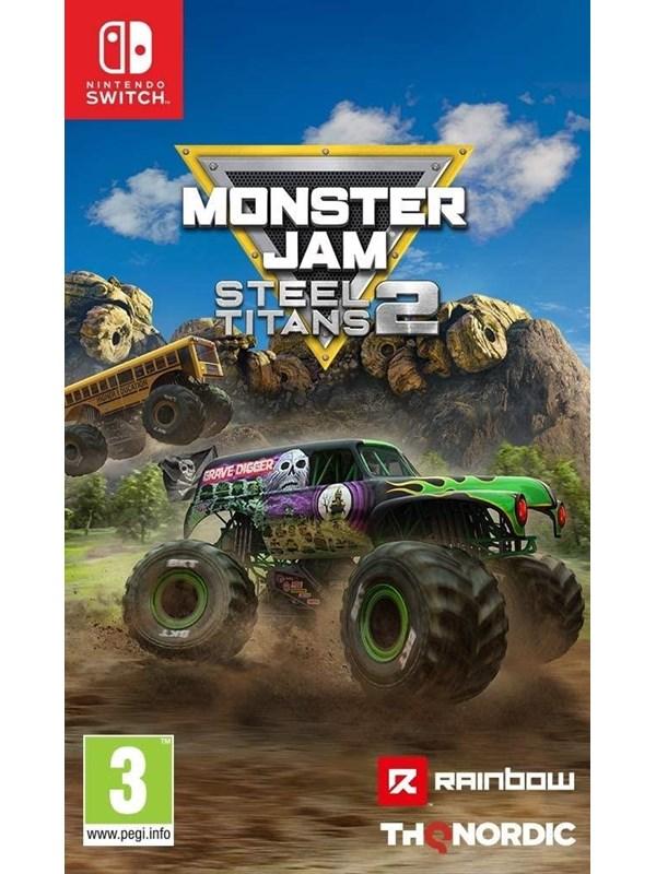 Monster Jam Steel Titans 2 - Nintendo Switch - Rennspiel - PEGI 3 Produktbild
