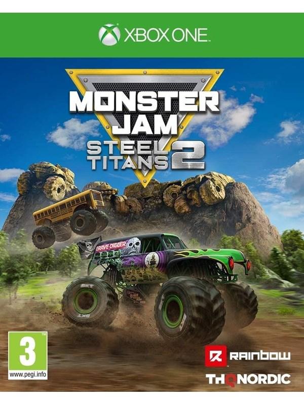 Monster Jam Steel Titans 2 - Microsoft Xbox One - Rennspiel - PEGI 3 Produktbild