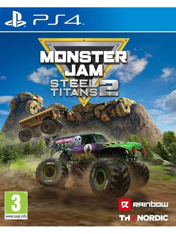 Monster Jam Steel Titans 2 - Sony PlayStation 4 - Rennspiel - PEGI 3 Produktbild