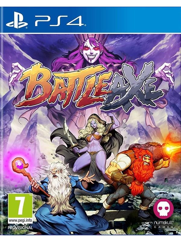 Battle Axe - Sony PlayStation 4 - Action/Abenteuer - PEGI 7 Produktbild