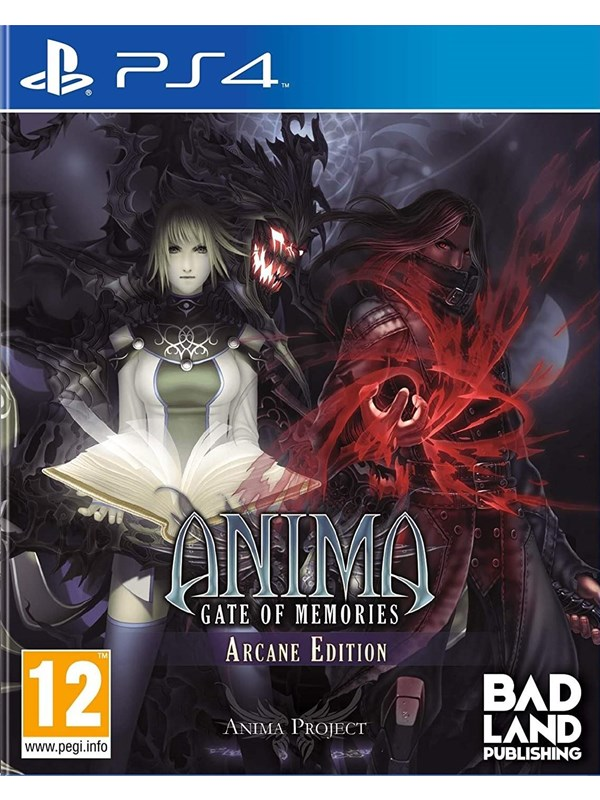 Anima Gate Of Memories: Arcane Edition - Sony PlayStation 4 - RPG - PEGI 12 Produktbild