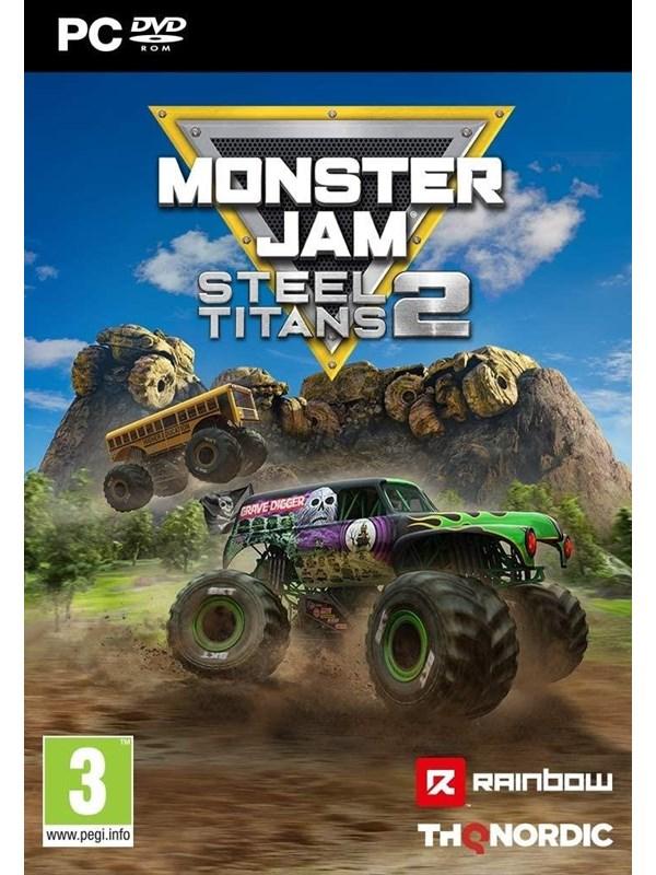 Monster Jam Steel Titans 2 - Windows - Rennspiel - PEGI 3 Produktbild