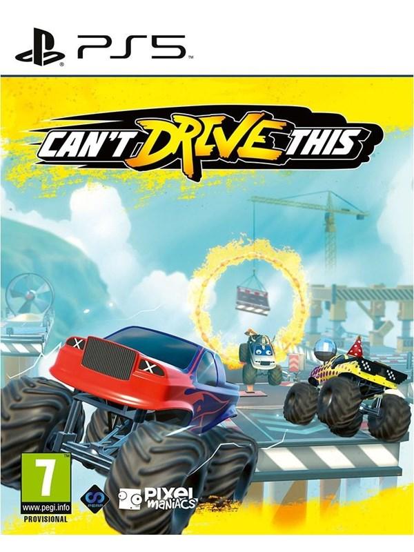 Can't Drive This - Sony PlayStation 5 - Rennspiel - PEGI 7 Produktbild