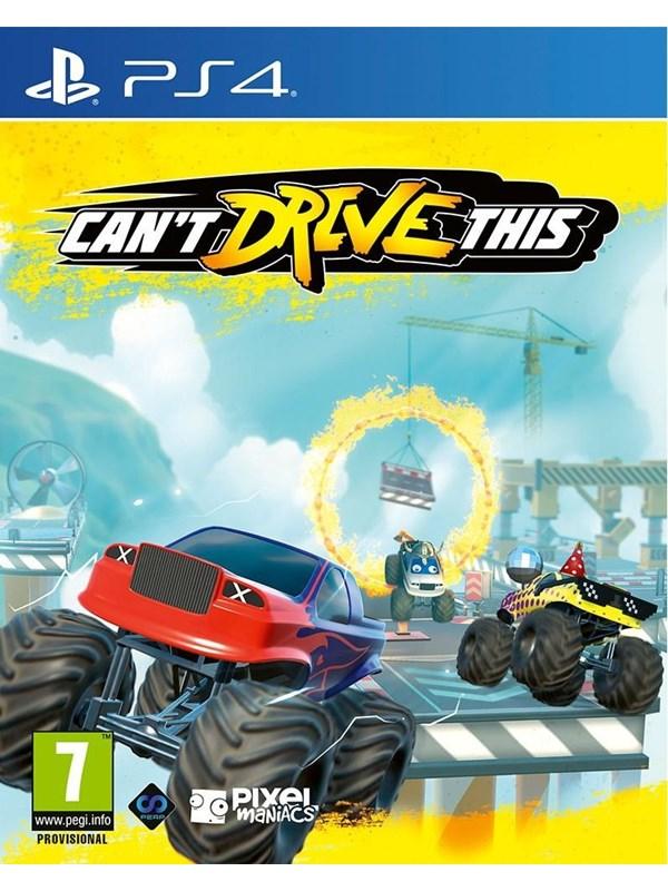 Can't Drive This - Sony PlayStation 4 - Rennspiel - PEGI 7 Produktbild