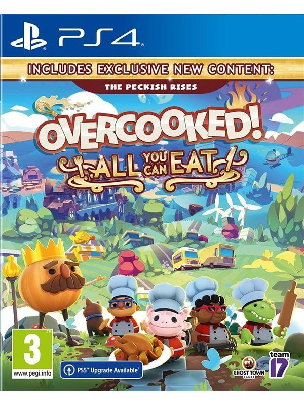 Overcooked! - All You Can Eat - Sony PlayStation 4 - Party - PEGI 3 Produktbild
