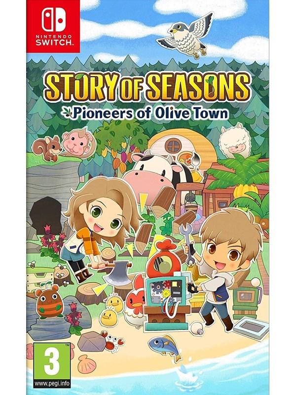 Story of Seasons: Pioneers of Olive Town - Nintendo Switch - Strategie - PEGI 3 Produktbild