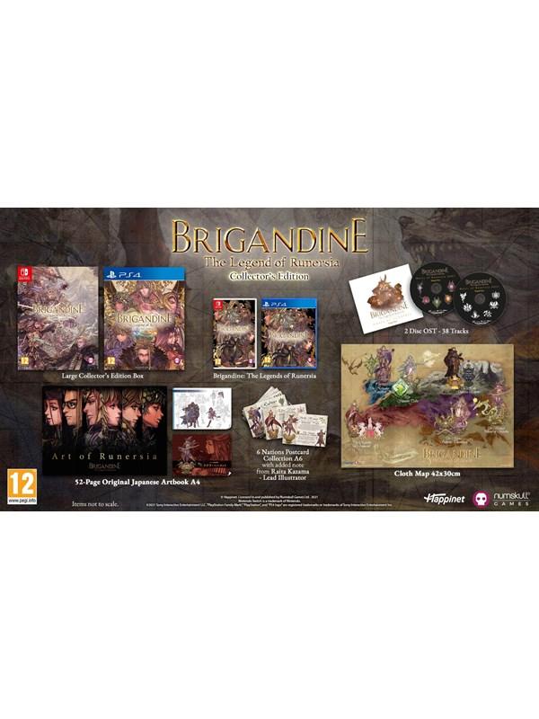 Brigandine: The Legend of Runersia - Collector's Edition - Sony PlayStation 4 - Strategie - PEGI 12 Produktbild