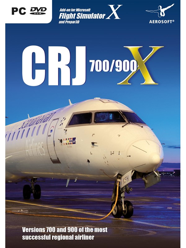 Microsoft Flight Simulator X & Prepar3D: CRJ 700/900 X - Windows - Simulator - PEGI 3 Produktbild