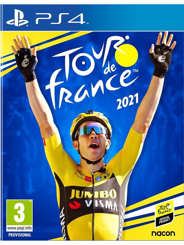 Tour de France 2021 - Sony PlayStation 4 - Sport - PEGI 3 Produktbild