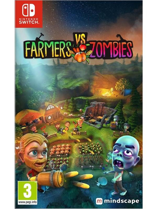 Farmers vs Zombies - Nintendo Switch - Action - PEGI 3 Produktbild