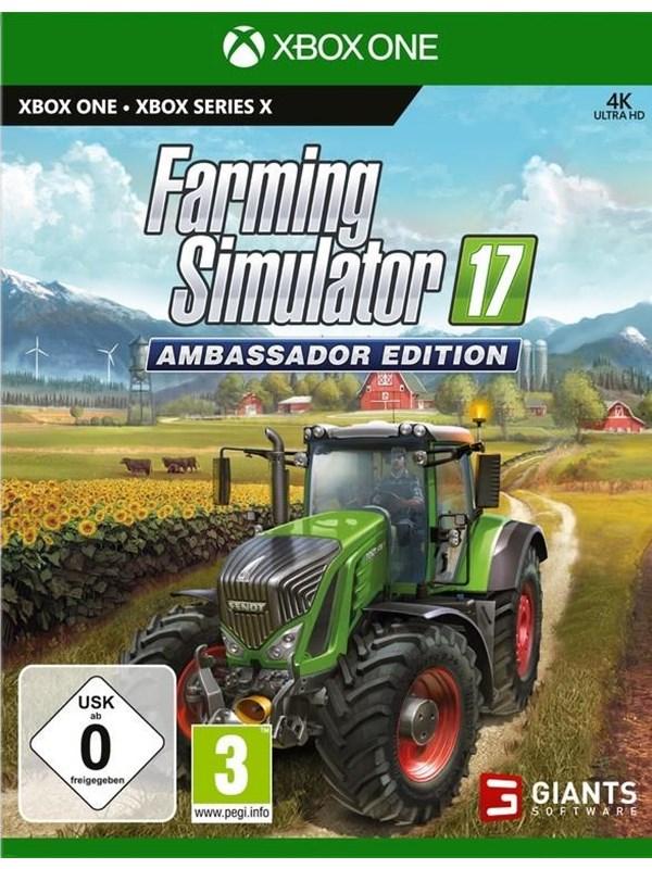 Farming Simulator 17 - Ambassador Edition - Microsoft Xbox One - Simulator - PEGI 3 Produktbild