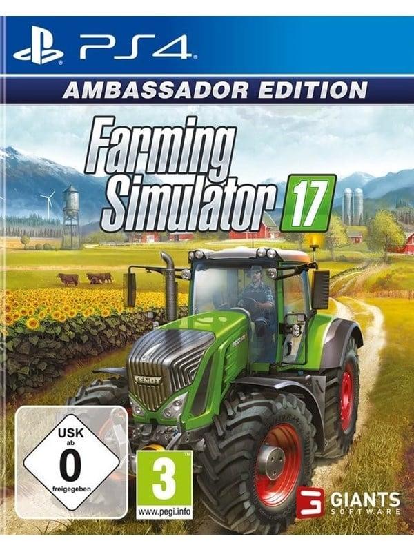 Farming Simulator 17 - Ambassador Edition - Sony PlayStation 4 - Simulator - PEGI 3 Produktbild
