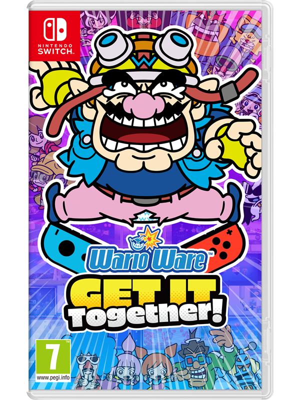 WarioWare: Get It Together! - Nintendo Switch - Party - PEGI 7 Produktbild
