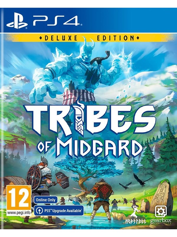 Tribes of Midgard - Deluxe Edition - Sony PlayStation 4 - RPG - PEGI 12 Produktbild