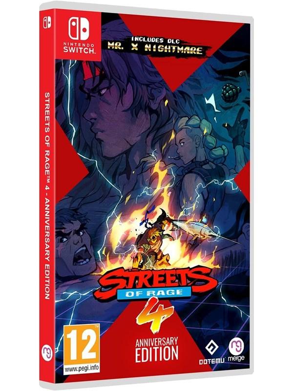 Streets of Rage 4 - Anniversary Edition - Nintendo Switch - Fighting - PEGI 12 Produktbild