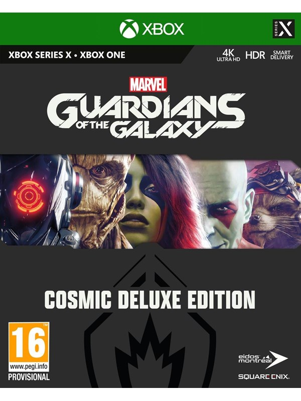Marvel's Guardians of the Galaxy - Cosmic Deluxe Edition - Microsoft Xbox One - RPG - PEGI 16 Produktbild