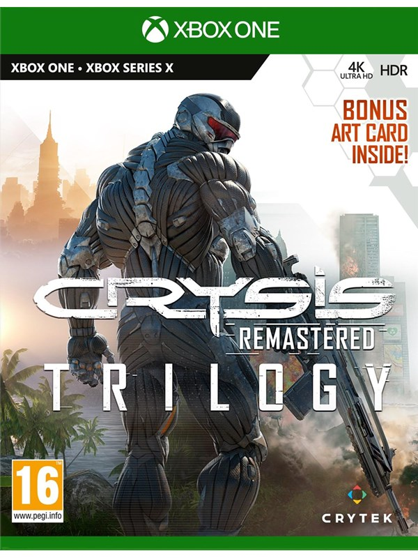 Crysis Remastered Trilogy - Microsoft Xbox One - FPS - PEGI 16 Produktbild