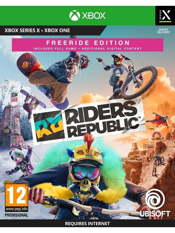 Riders Republic - Freeride Edition - Microsoft Xbox Serie X - Sport - PEGI 12 Produktbild