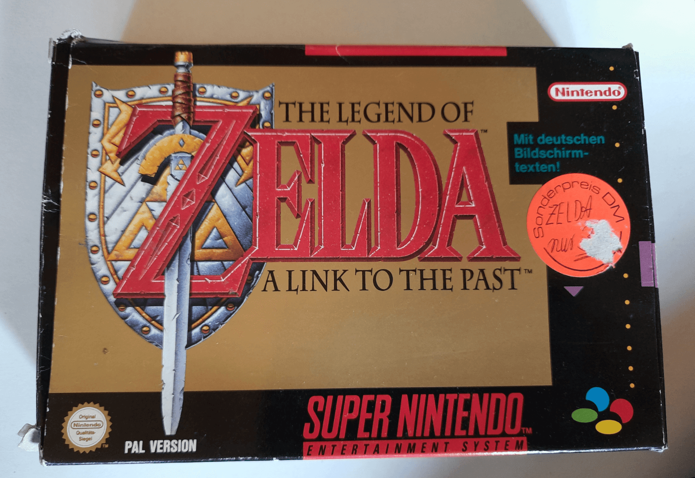 The Legend of Zelda: A Link to the Past | Nintendo Super Nintendo Entertainment System Produktbild