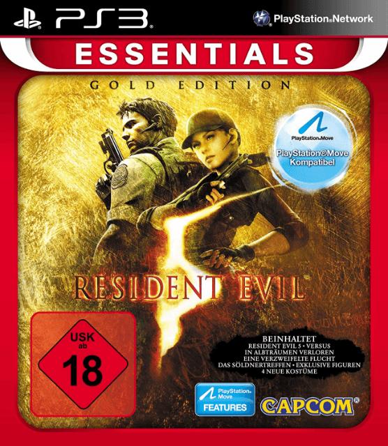 Resident Evil 5   Sony PlayStation 3 Produktbild
