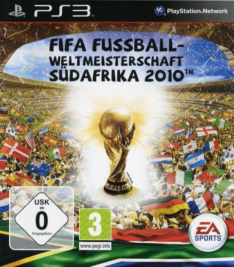 FIFA Fussball-Weltmeisterschaft Südafrika 2010   Sony PlayStation 3 Produktbild