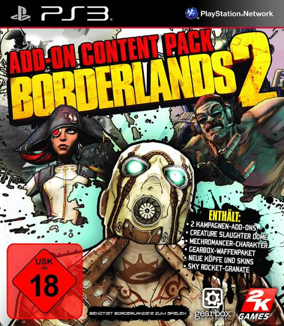 Borderlands 2: Add-On Content Pack | Sony PlayStation 3 Produktbild
