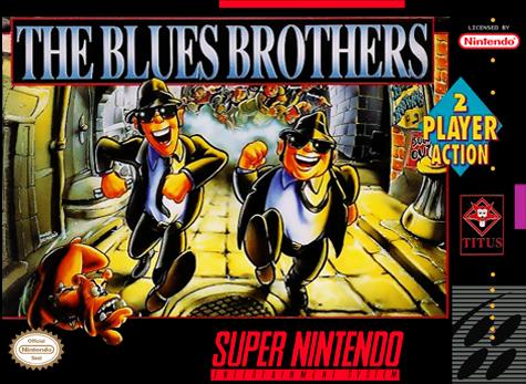 The Blues Brothers   Nintendo Super Nintendo Entertainment System Produktbild