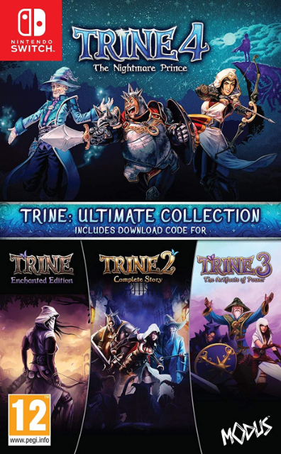 Trine 4 - The Ultimate Collection | Nintendo Switch Produktbild