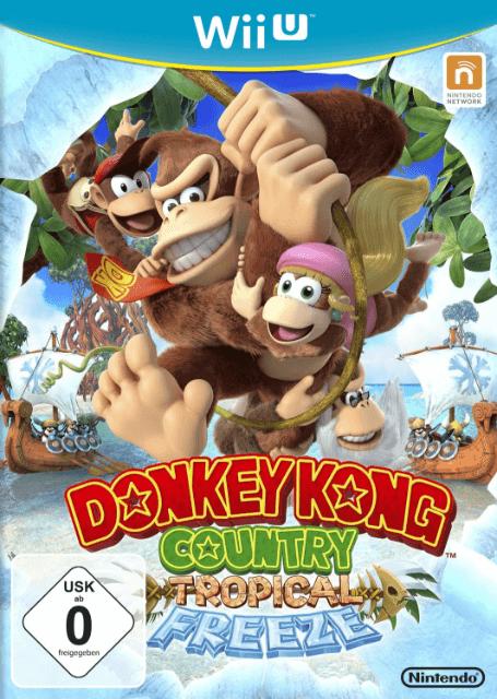 Donkey Kong Country: Tropical Freeze   Nintendo Wii U Produktbild
