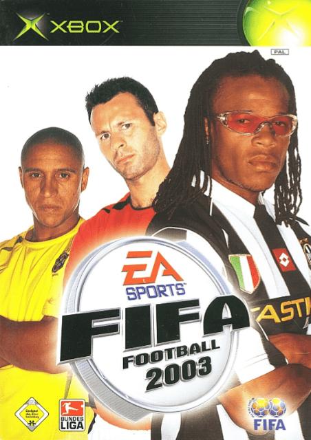 FIFA Football 2003   Microsoft Xbox Produktbild