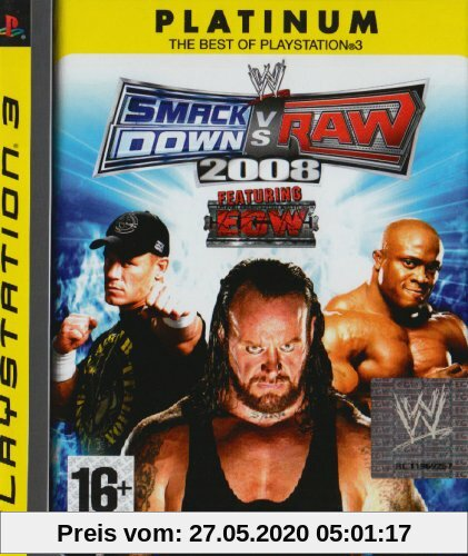 WWE Smackdown vs. Raw 2008 - Alpine [Platinum] Produktbild