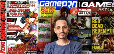 Spielejournalist Benedikt im Interview