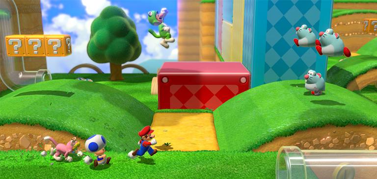Super Mario 3D World - Der 18. Teil der Mario Reihe Beitragsbild