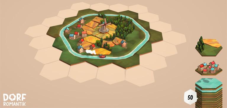Dorfromantik: Ein Spiel zum Entspannen Beitragsbild